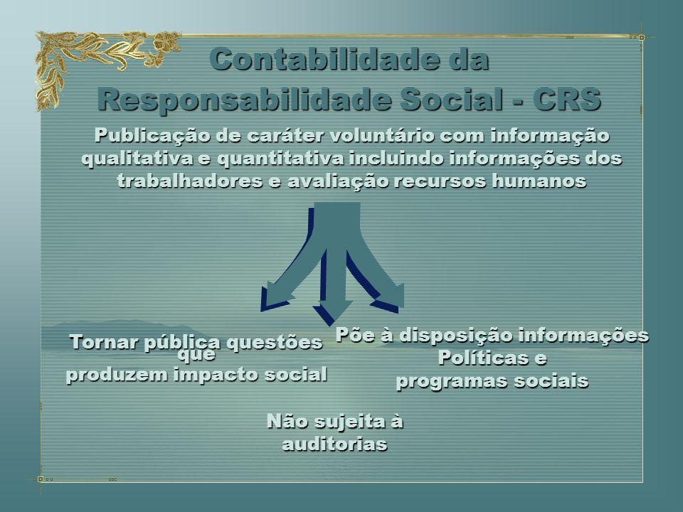 Publicação de caráter voluntário com informação qualitativa e quantitativa incluindo informações dos trabalhadores e avaliação recursos humanos Contab