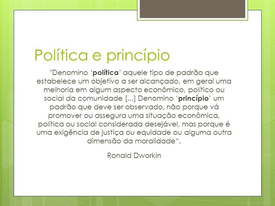 Política e princípio