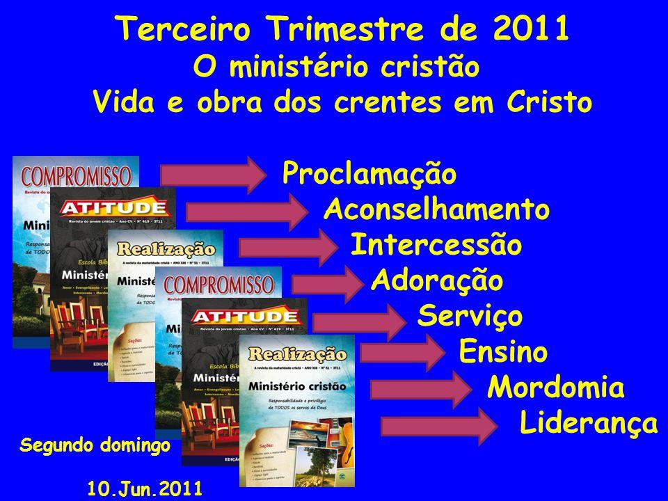 Estudo 02 Há diversidade dos serviços O ministério cristão e sua multiplicidade Textos bíblicos: Rm 12.1-8 1Co 12.1-11,28-31 Ef 4.11-16 Texto áureo: 1Co 12.5: E há diversidade de ministérios, mas o Senhor é o mesmo.