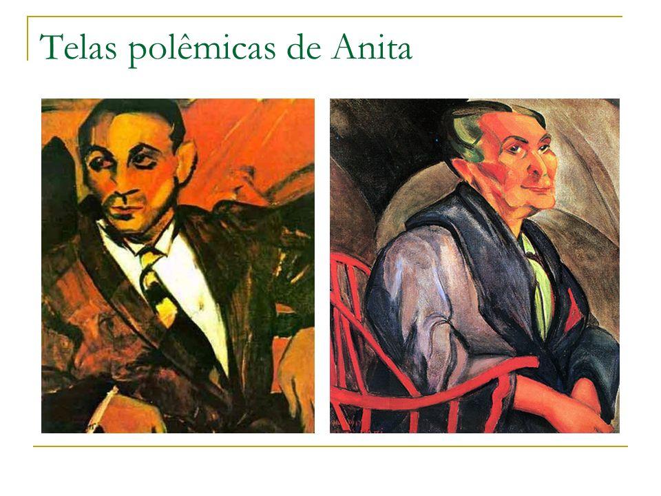 Telas polêmicas de Anita