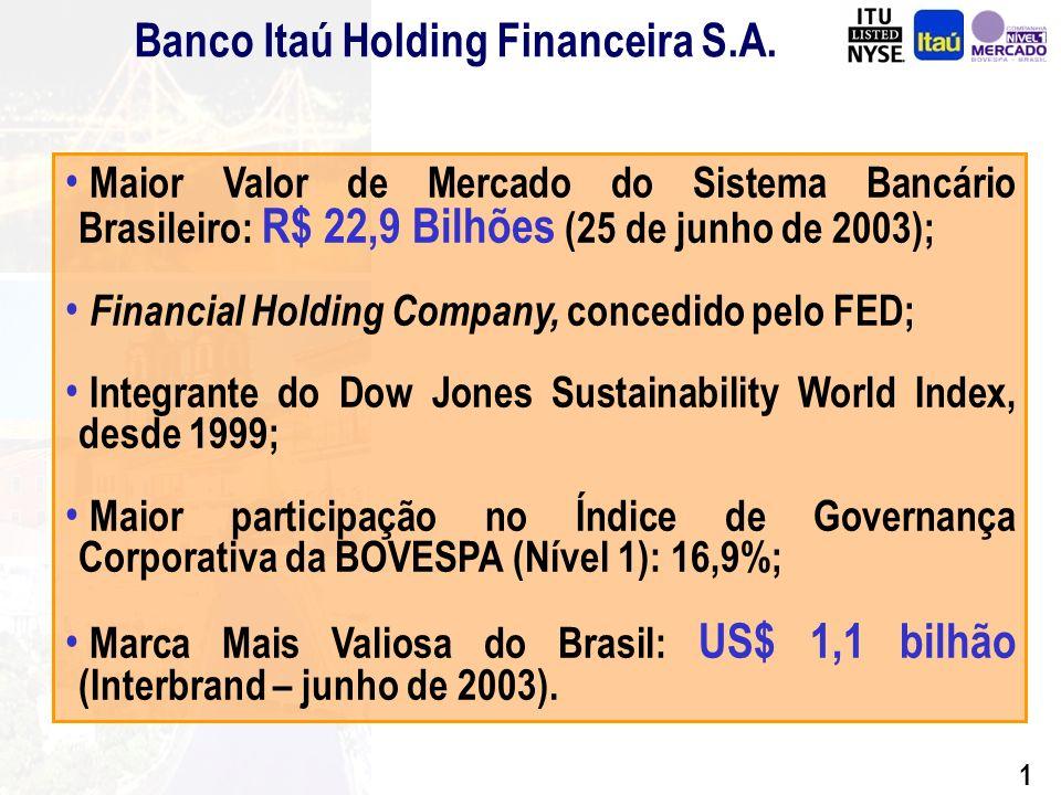 0 30 de junho - Florianópolis 01 de julho - Salvador 03 de julho - Recife Banco Itaú Holding Financeira S.A.