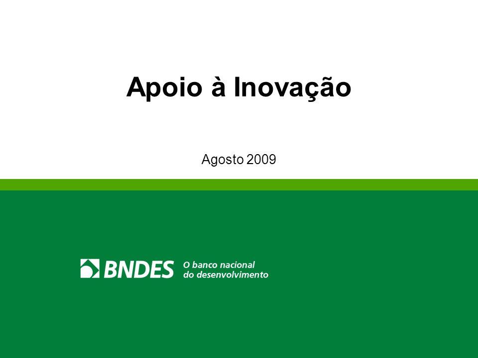 Apoio à Inovação Agosto 2009