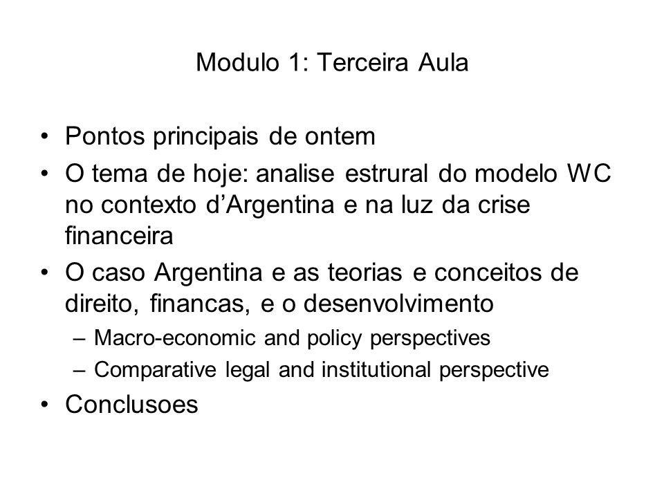 Key policies and arrangements – local markets Relation of government to financial system –Monetary, fiscal and exchange rate policy constrained by currency board and convertibility regime –Limited ability to mobilize domestic savings or channel savings to productive investment –Increasingly dependent on access to financial markets for financing of government deficits and as a condition of macro-economic stability