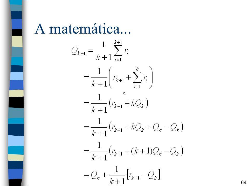 64 A matemática...