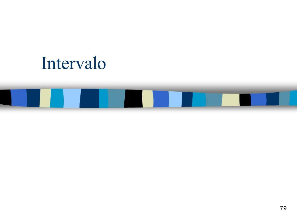 79 Intervalo