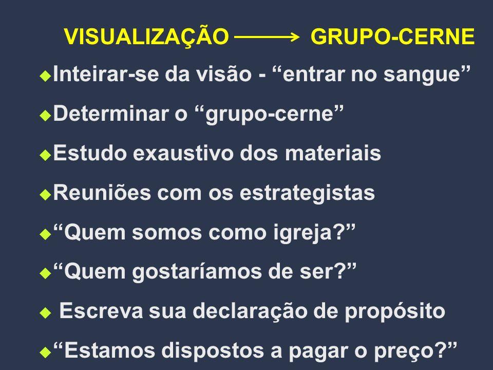 PASSOS NA TRANSIÇÃO VISUALIZAÇÃO PREPARAÇÃOMOBILIZAÇÃOREESTRUTURAÇÃOEXPANSÃO