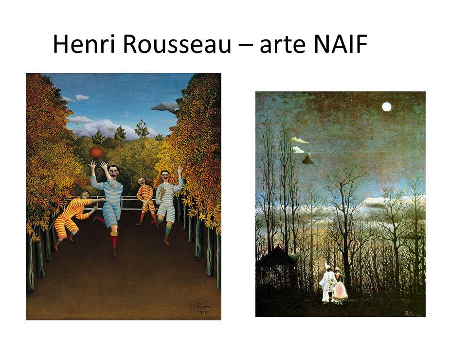 Henri Rousseau – arte NAIF