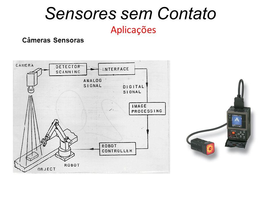 Sensores sem Contato Aplicações Câmeras Sensoras