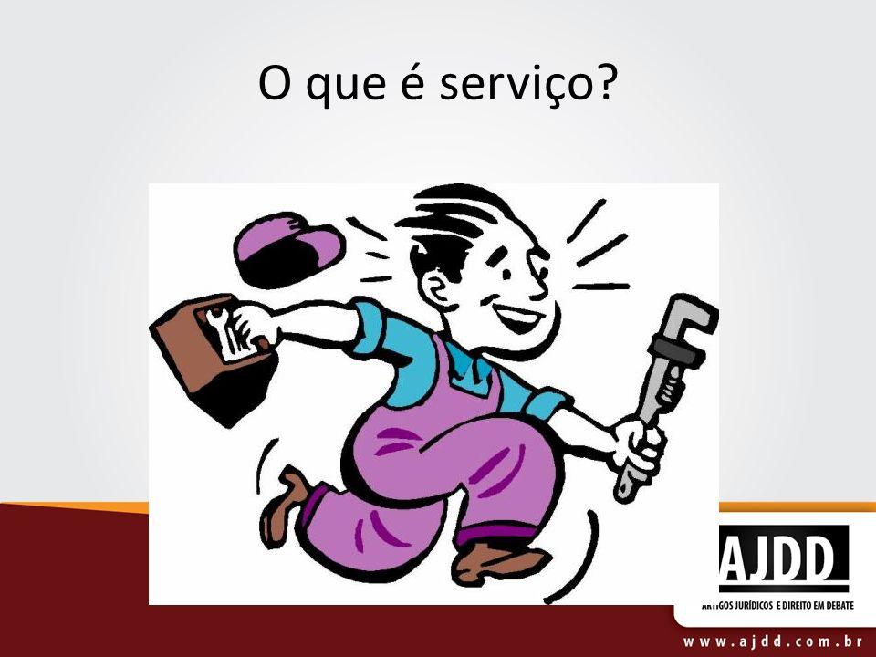 O que é serviço?