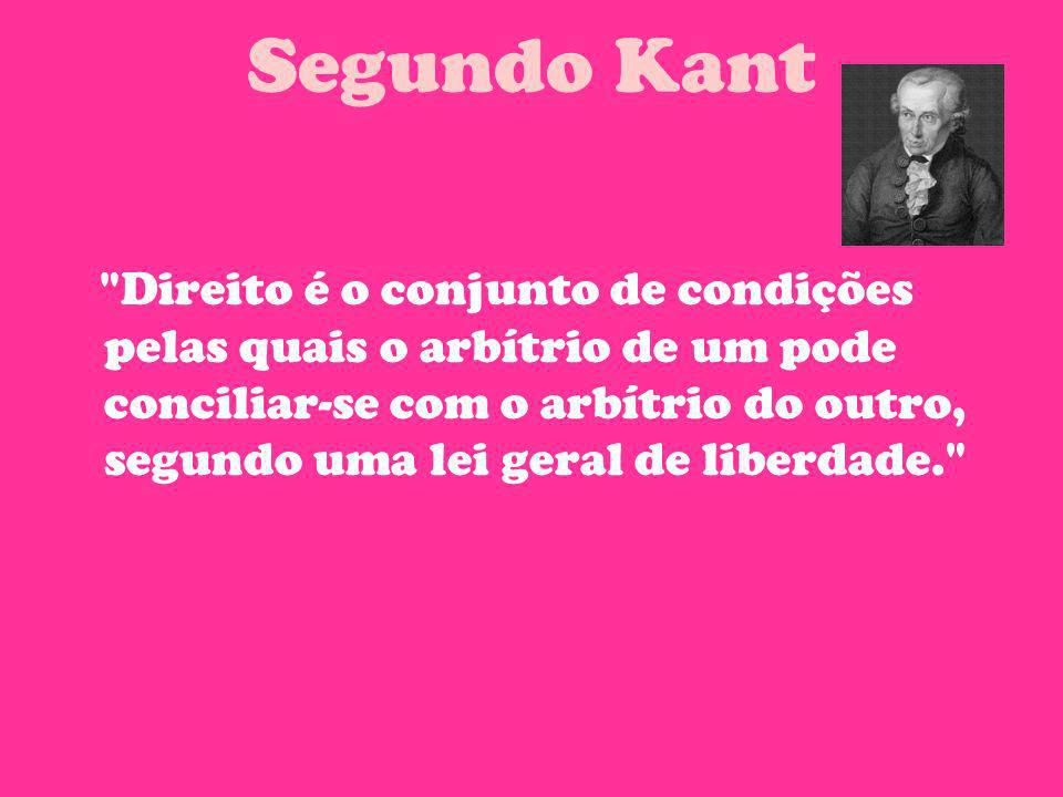 Segundo Kant
