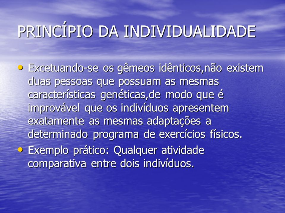 Adaptações fisiológicas crônicas ao exercício físico crônico Vamos aos princípios que regem a atividade física regular. Vamos aos princípios que regem