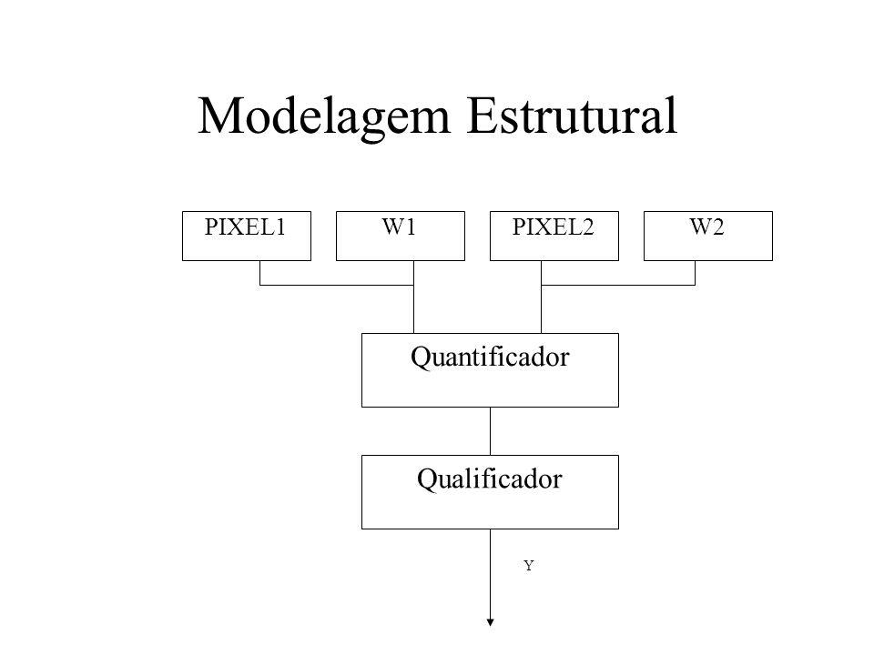 Modelagem Estrutural PIXEL1W1PIXEL2W2 Quantificador Qualificador Y