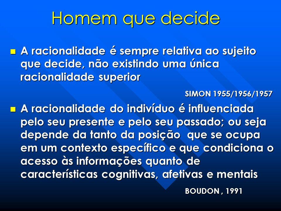 A estruturação do campo cognitivo dos atores condiciona a sua percepção dos problemas GREMION, 1979; ALISSON, 1971; COHEN, MARCH e OLSEN, 1972 A estruturação do campo cognitivo dos atores condiciona a sua percepção dos problemas GREMION, 1979; ALISSON, 1971; COHEN, MARCH e OLSEN, 1972