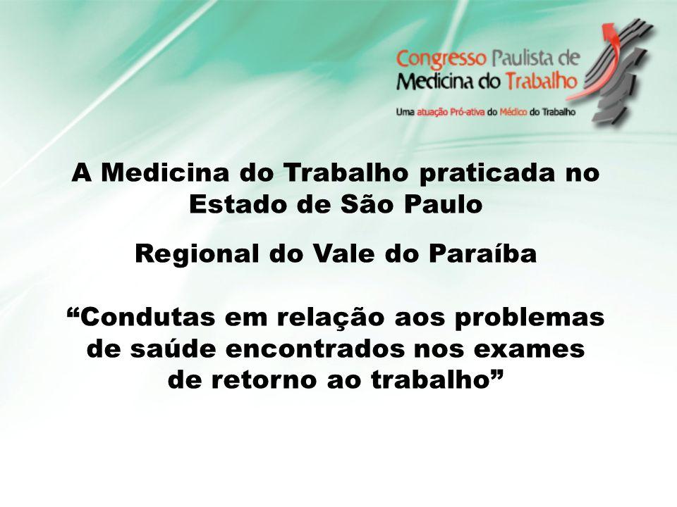 Francir Veneziani Silva Medico do Trabalho Diretor Científico APMT Regional Vale do Paraíba.