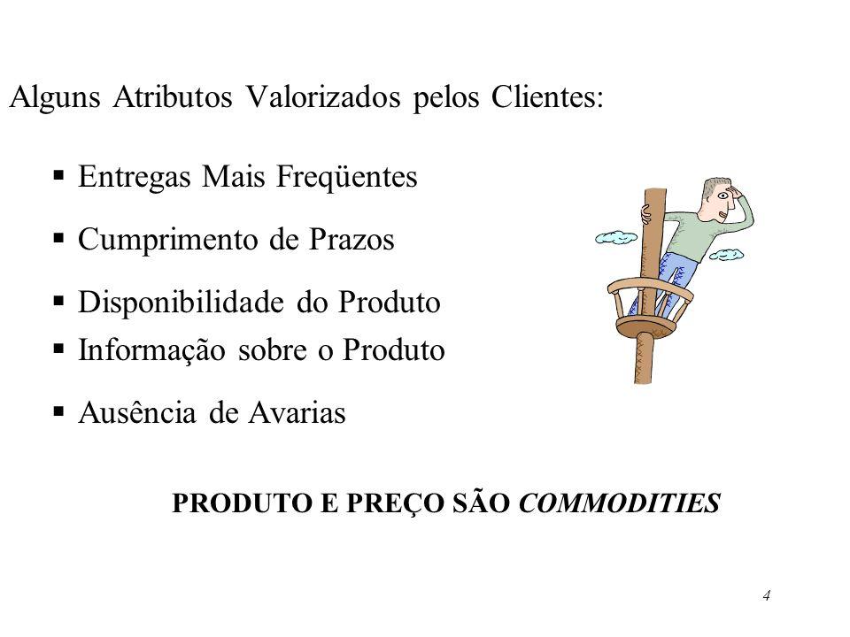 5 Composição do Serviço ao Cliente –Dimensões&Variáveis 1.