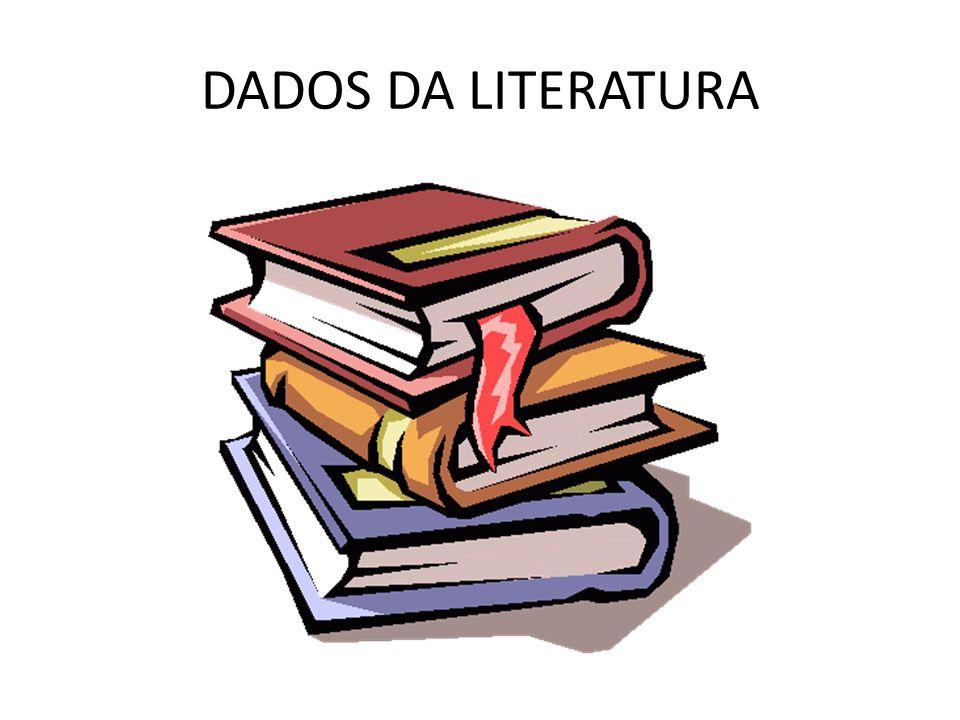 DADOS DA LITERATURA