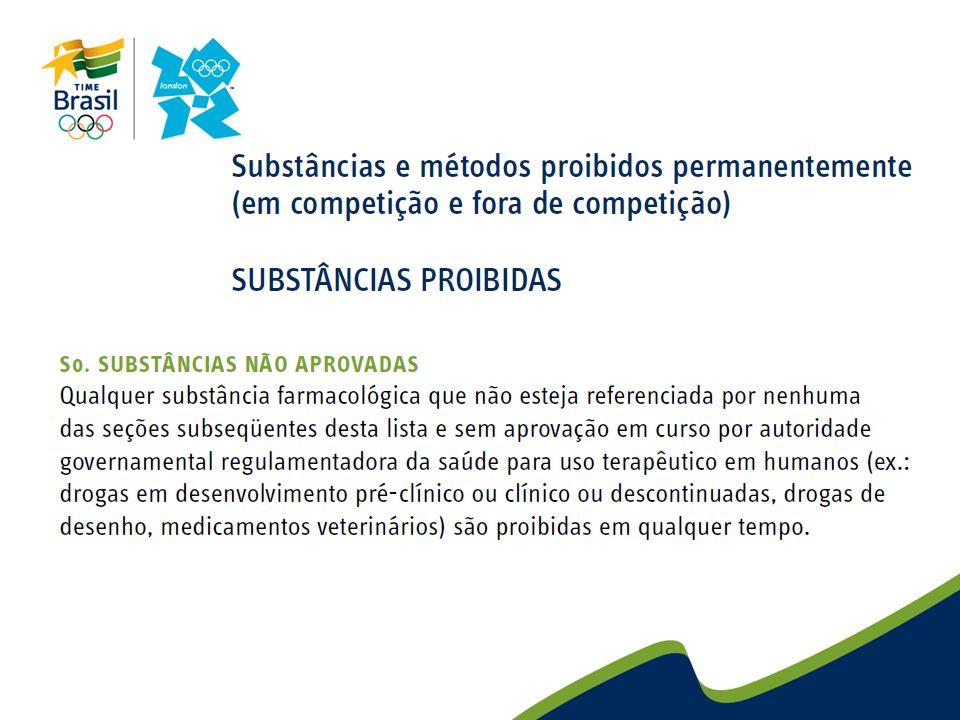 Atletas podem eventualmente estar doentes ou apresentar uma condição que requer o uso de uma determinada substancia proibida.