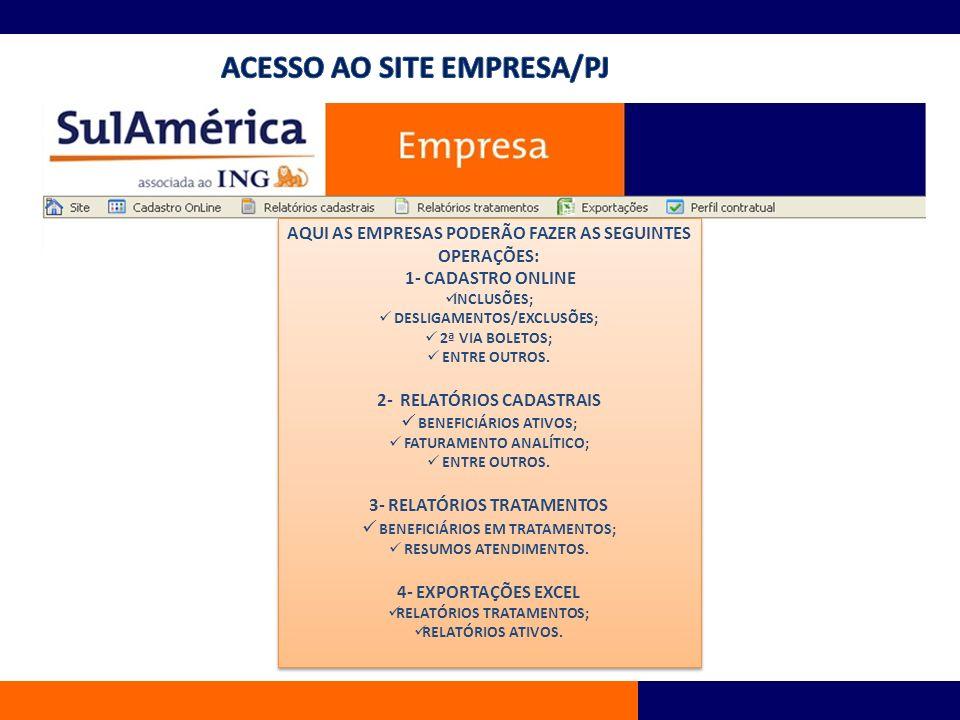CADASTRO ONLINE 1 - INCLUSÃO DE TITULAR CADASTRO ONLINE 1 - INCLUSÃO DE TITULAR