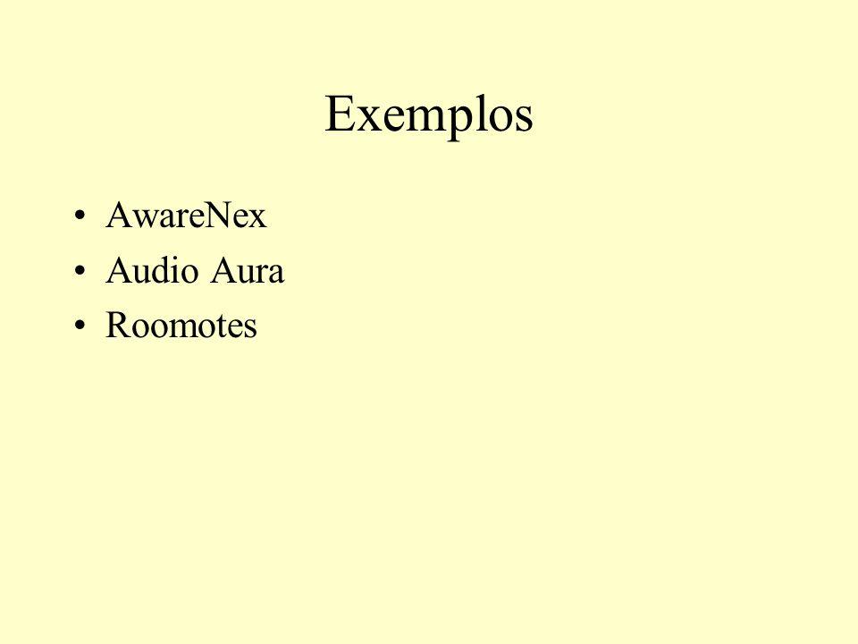 Exemplos AwareNex Audio Aura Roomotes