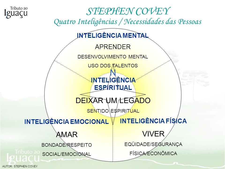 STEPHEN COVEY INTELIGÊNCIA MENTAL APRENDER DESENVOLVIMENTO MENTAL USO DOS TALENTOS INTELIGÊNCIA ESPIRITUAL DEIXAR UM LEGADO SENTIDO ESPIRITUAL INTELIG