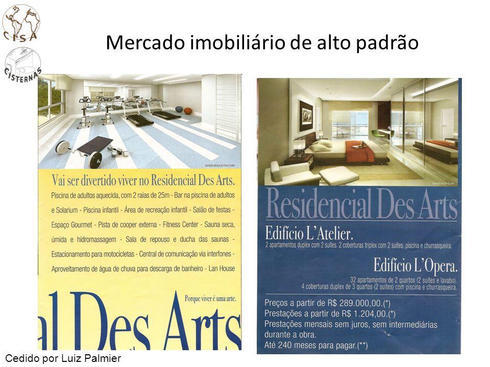 Mercado imobiliário de alto padrão Cedido por Luiz Palmier