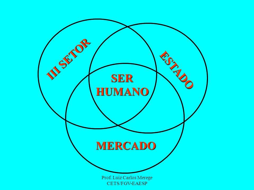III SETOR ESTADO MERCADO SERHUMANO