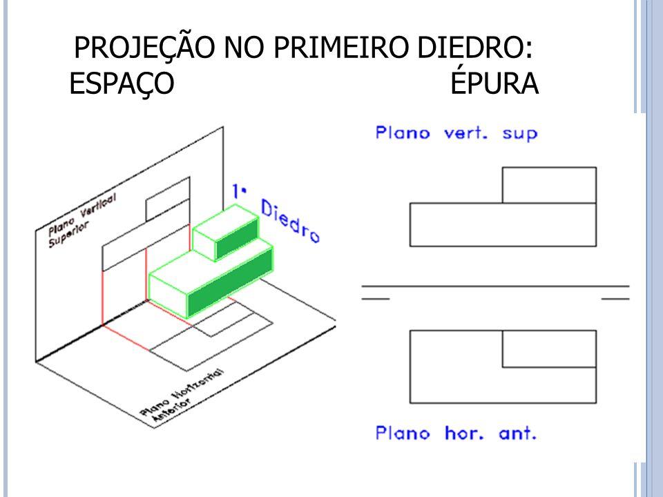 PROJEÇÃO NO PRIMEIRO DIEDRO: ESPAÇO ÉPURA 26