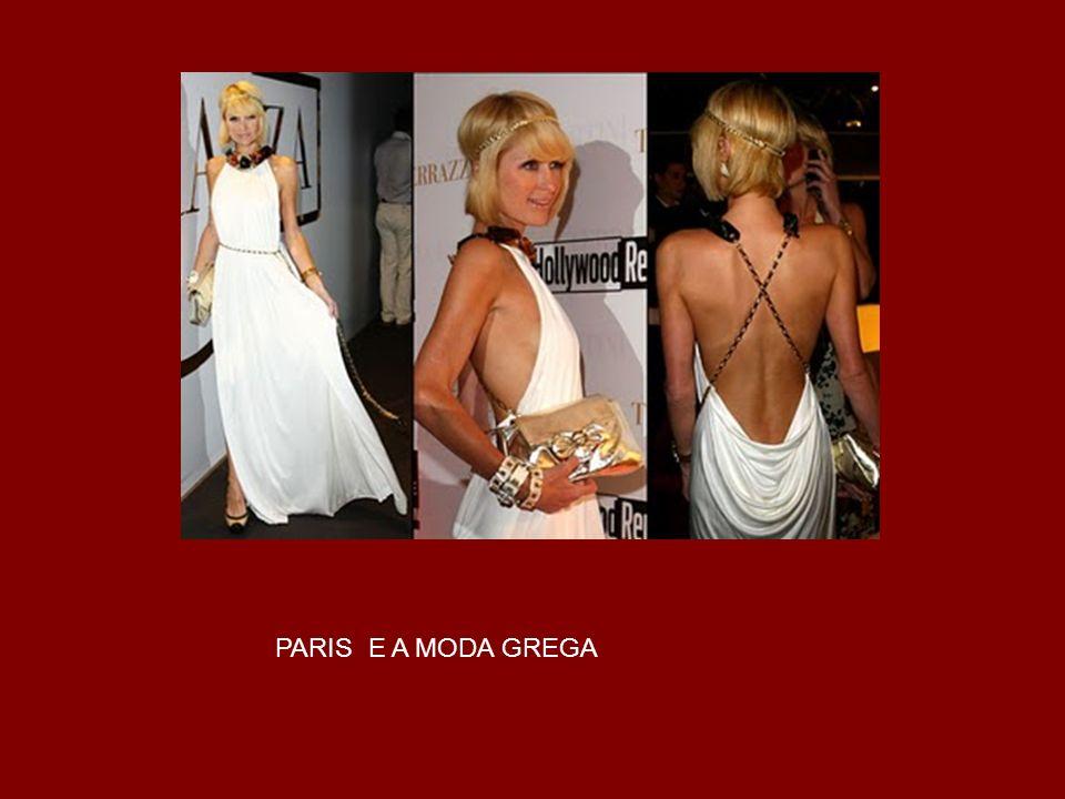 PARIS E A MODA GREGA