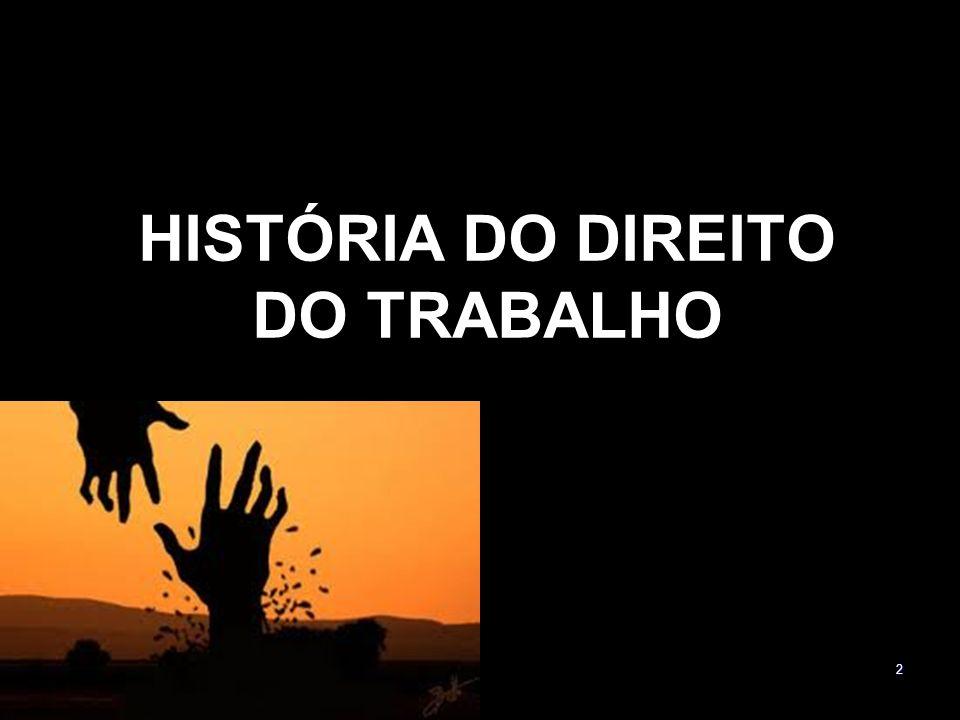 2 HISTÓRIA DO DIREITO DO TRABALHO