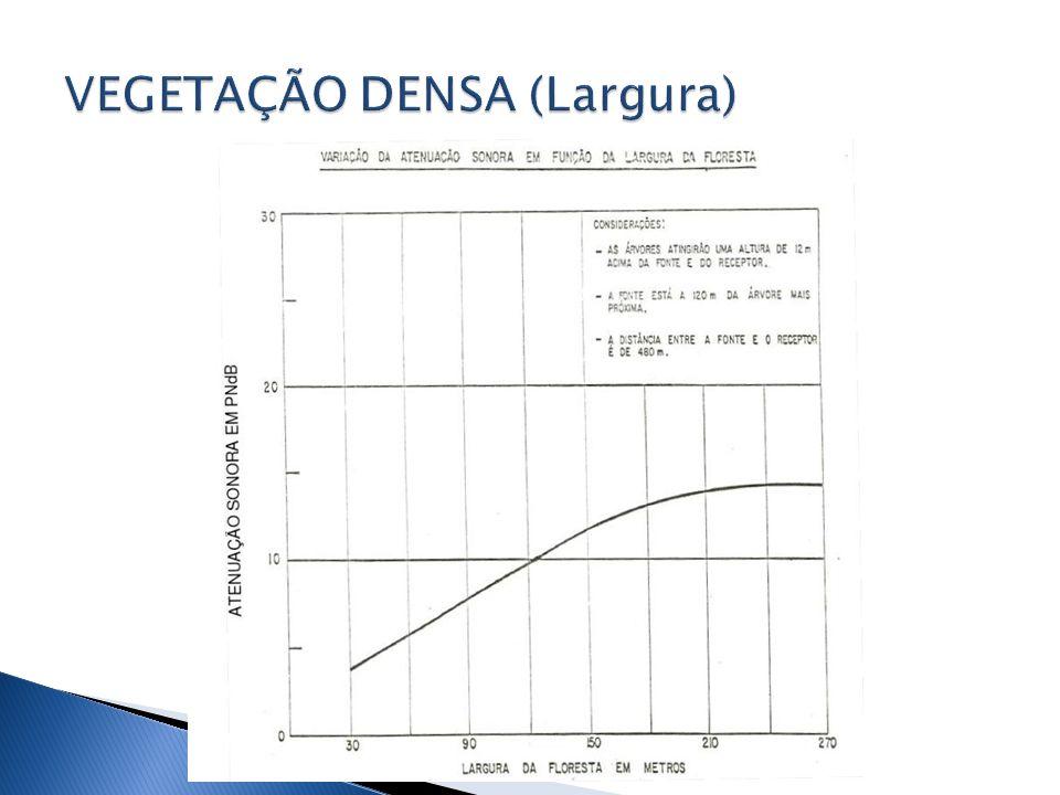 VEGETAÇÃO DENSA (Largura)