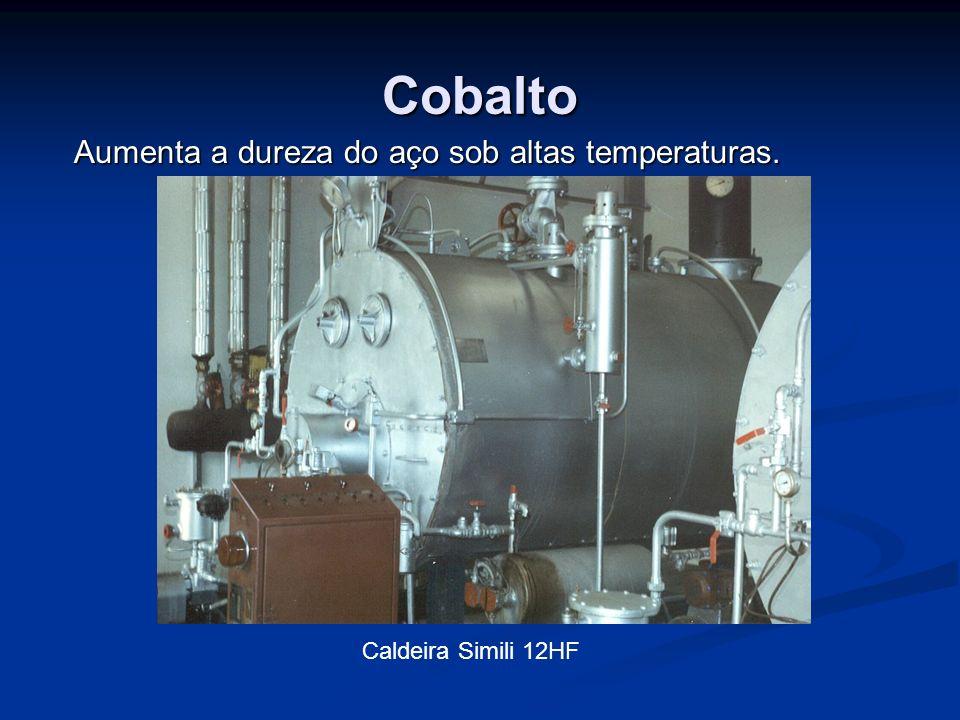 Cobre Melhora a resistência à corrosão por agentes atmosféricos, se usado em teores de 0,2 a 0,5%.