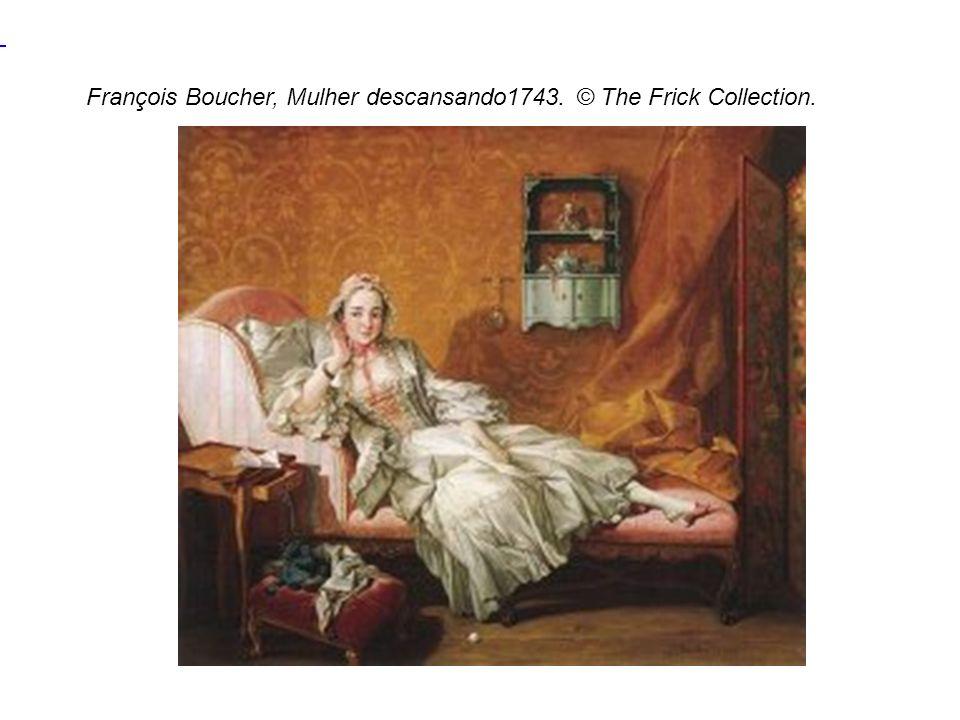 François Boucher, Mulher descansando1743. © The Frick Collection.