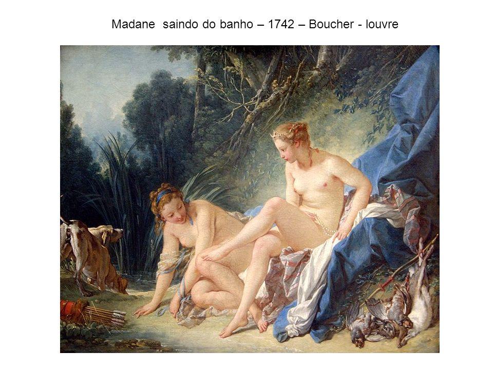 Madane saindo do banho – 1742 – Boucher - louvre