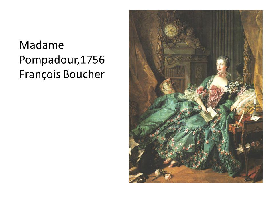 Madame Pompadour,1756 François Boucher