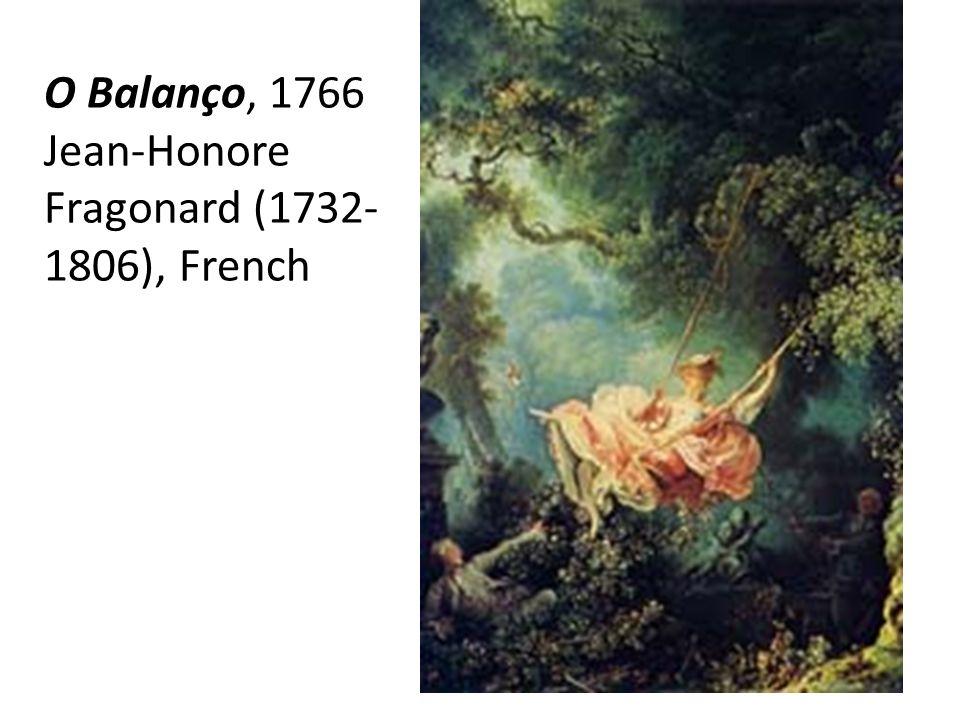 O Balanço, 1766 Jean-Honore Fragonard (1732- 1806), French