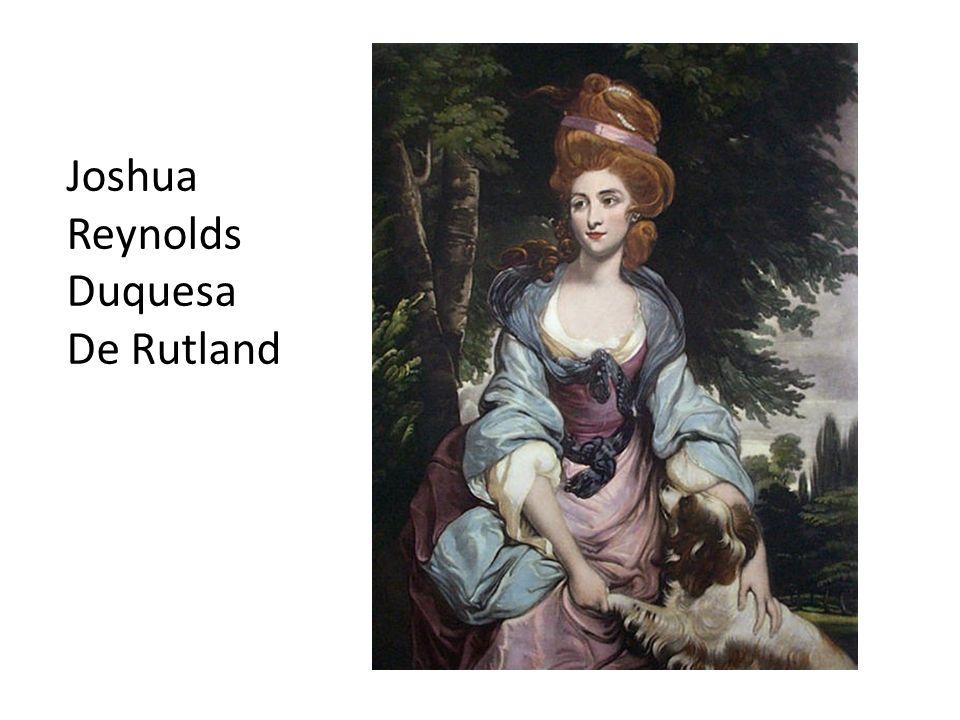 Joshua Reynolds Duquesa De Rutland
