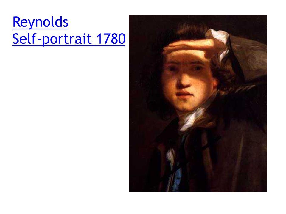 Reynolds Self-portrait 1780