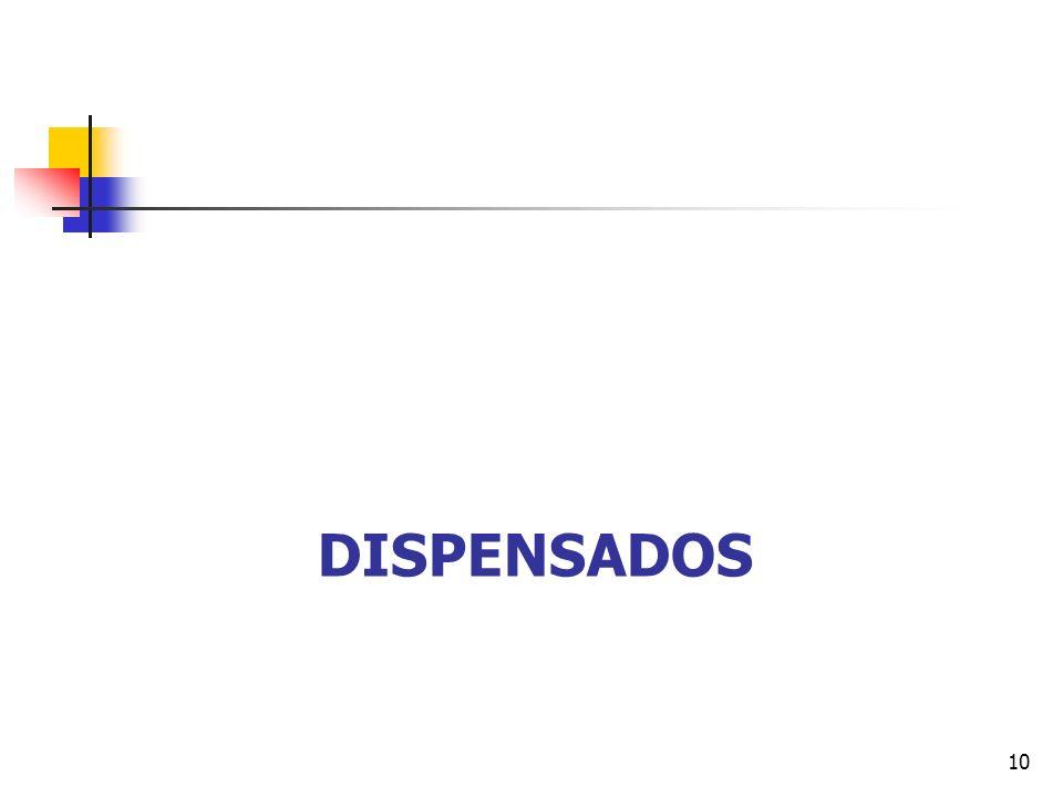 DISPENSADOS 10