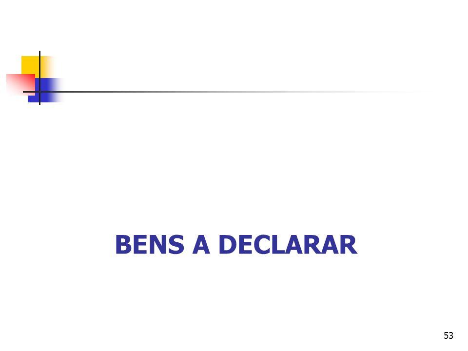 BENS A DECLARAR 53
