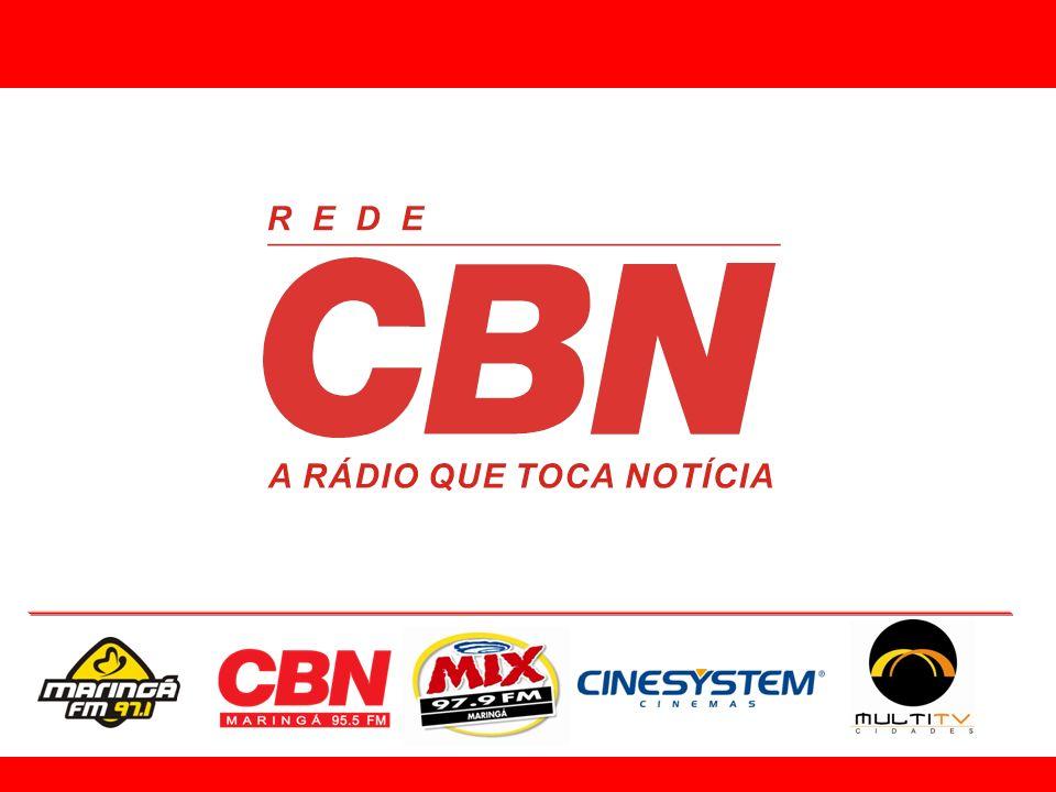 A Rede CBN, formada por 28 emissoras em todo o Brasil, atua no segmento all news, ou seja, 24 horas de jornalismo.