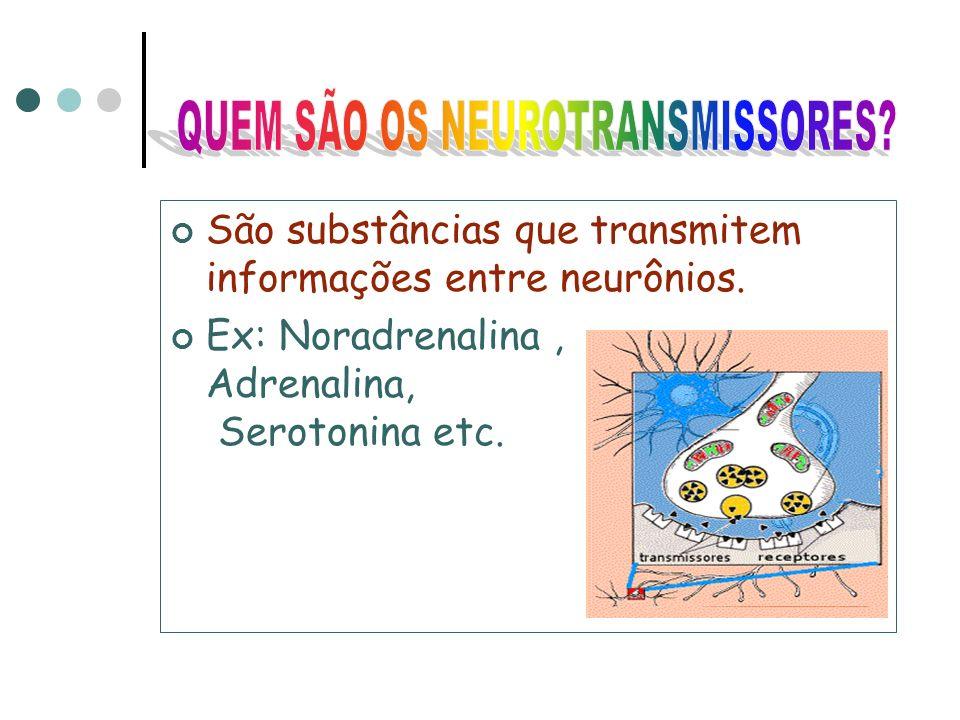 ATENÇÃO! Algumas drogas estimulam as sinapses, fazendo com que apenas os neurotransmissores não sejam suficientes para que os impulsos nervosos possam