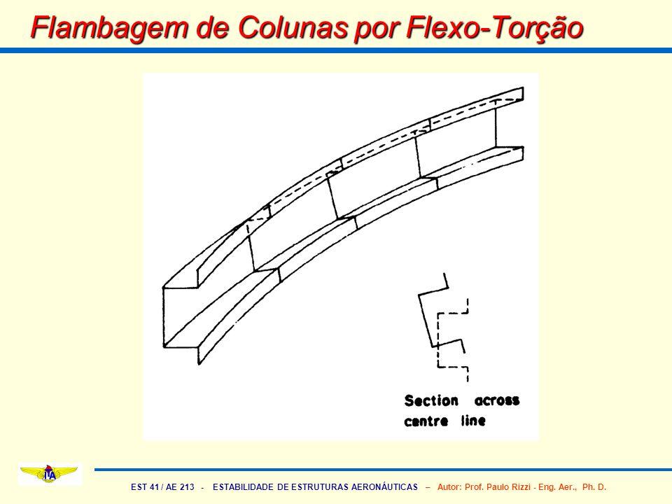 Flambagem de Colunas por Flexo-Torção