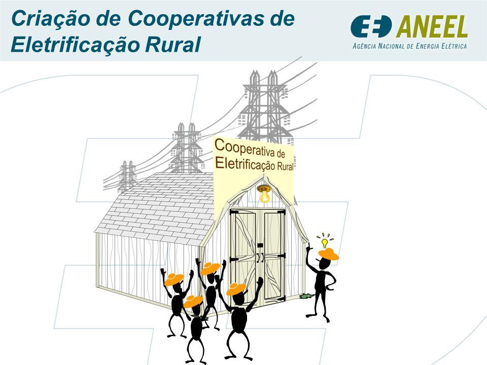 Cooperativismo: Uma Longa História de Serviços Prestados à Comunidade Rural Propriedades rurais atendidas pelo sistema cooperativista Propriedades Rurais Eletrificadas Propriedades Rurais Existentes no Brasil 5.200.000 1.120.000 420.000 Primeira cooperativa de eletrificação rural do Brasil - fundada em 1941 para gerar energia elétrica para pequena localidade no estado do RS.