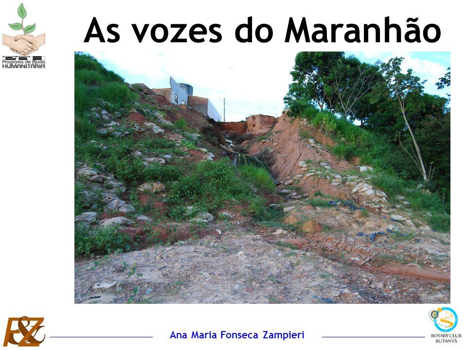 Ana Maria Fonseca Zampieri A maior impressão que fica é a força e a garra do povo maranhense, principalmente da mulher...