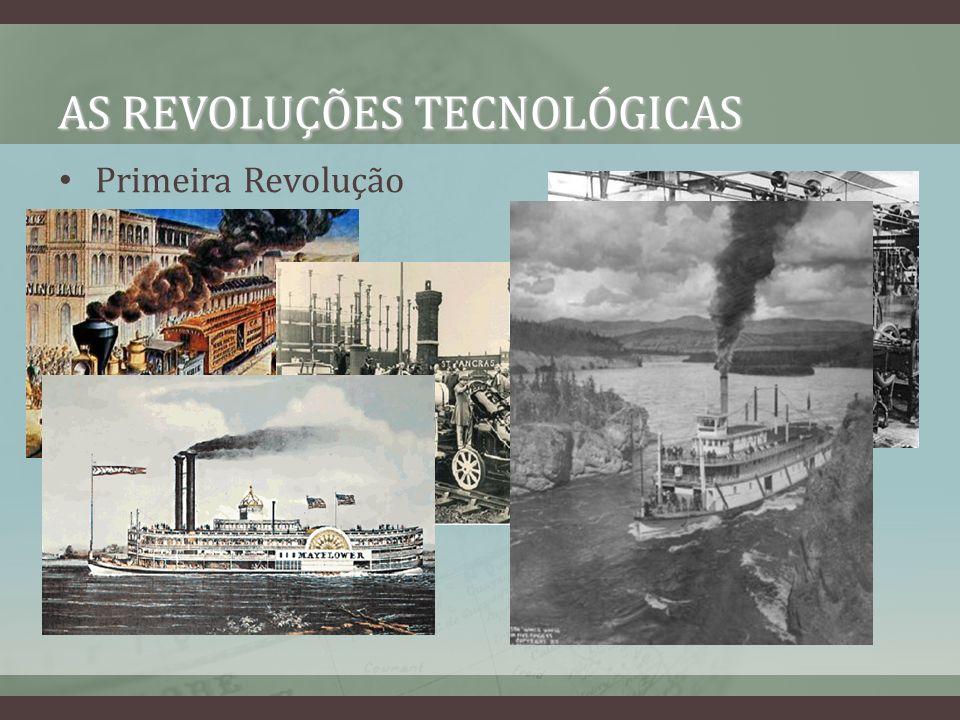 AS REVOLUÇÕES TECNOLÓGICAS Primeira Revolução