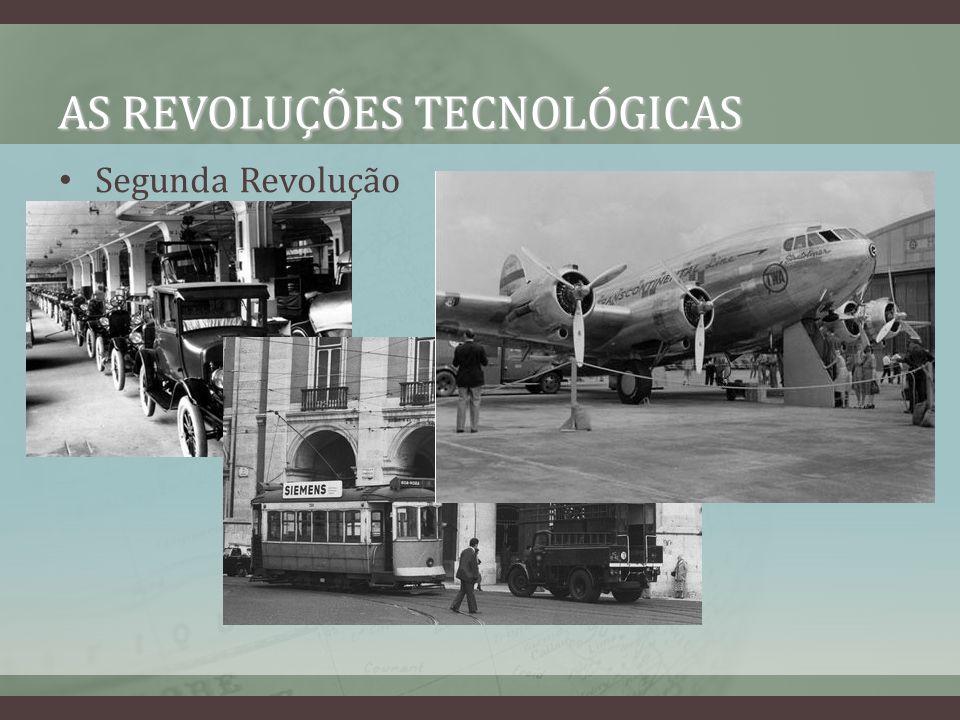 AS REVOLUÇÕES TECNOLÓGICAS Segunda Revolução