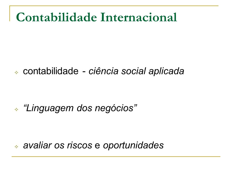 Profissão contábil no Brasil CFC X Educação Continuada para Auditores CFC X Grupo de Trabalho Normas Brasileiras de Contabilidade Harmonizar com as normas internacionais do IASB.
