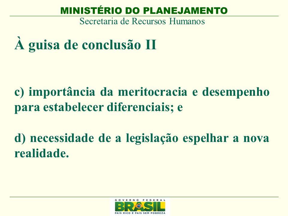 MINISTÉRIO DO PLANEJAMENTO Secretaria de Recursos Humanos MINISTÉRIO DO PLANEJAMENTO Muito Obrigado!.