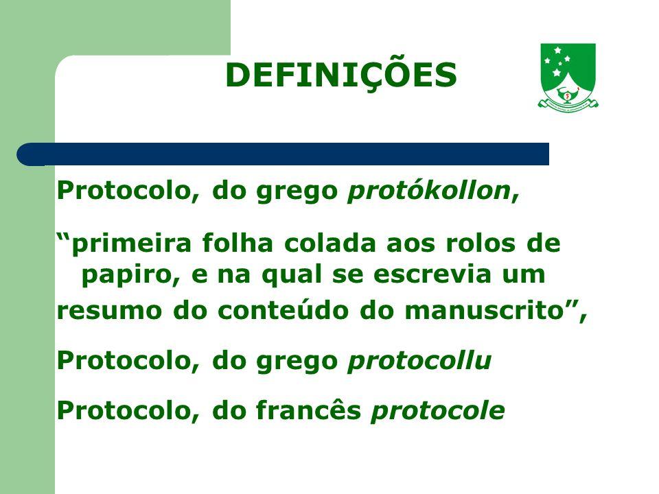 Segundo o Novo Aurélio século XXI: o Dicionário da Língua Portuguesa registro dos atos públicos; registro de formulário regulador de atos públicos; registro de uma conferência ou deliberação diplomática, convenção internacional...