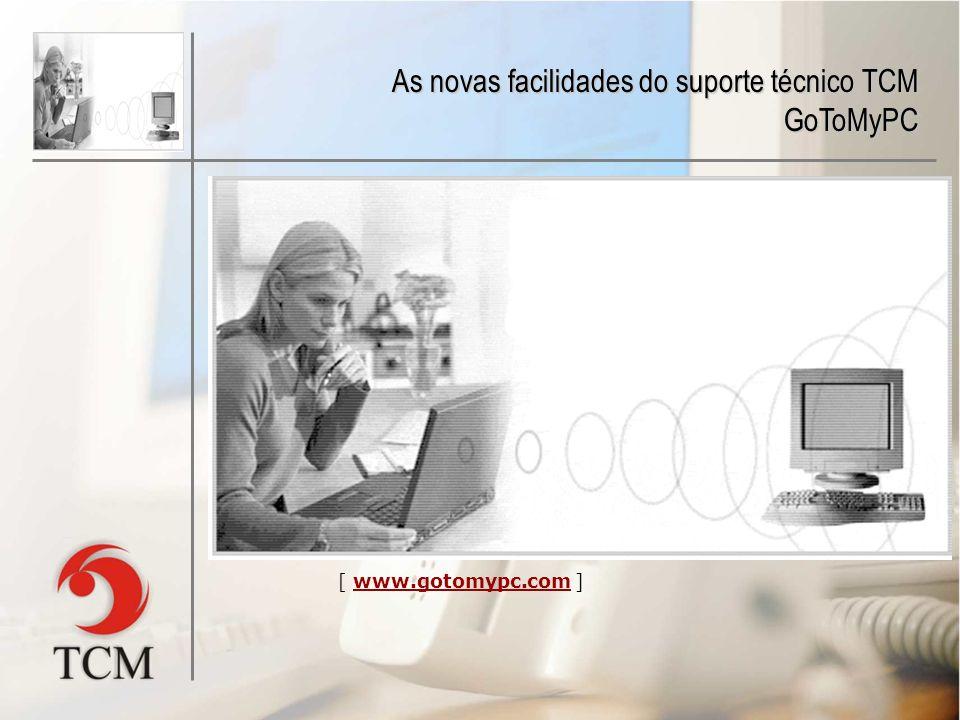 Através de um ASP (programa aplicativo via Web), o consultor técnico da TCM Informática pode acessar o computador do laboratório remotamente, o que ag